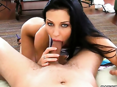 Aletta Ocean is full of desire to be anally fucked