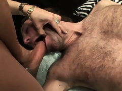 Monster shemale cock is big and hard and ready for hardcore action