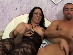 Ts hotty savors sex with mature arsehole bandit