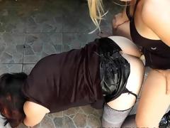 Mistress Fucks Crossdresser